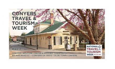 Conyers Travel and Tourism Week Schedule May 6- May 11