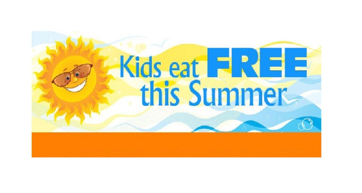 Schools out and FREE Summer meals are in!