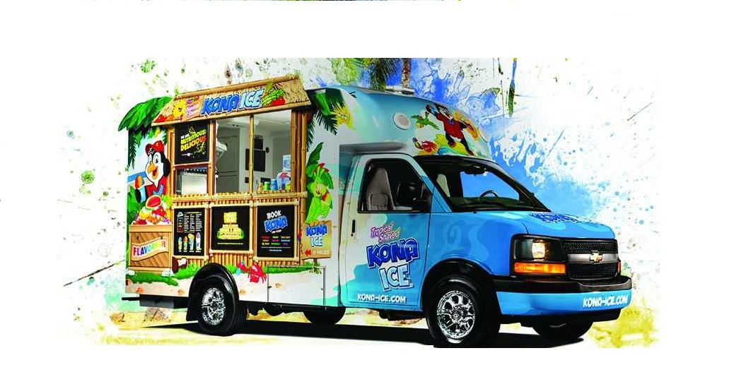 Just Chillin with Kona Ice